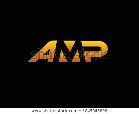 Stock fotó: Amper · közelkép · fekete · gitár · zene · fém