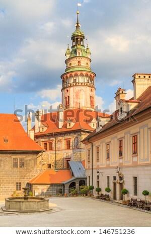View on the Schwarzenberg castle in Cesky Krumlov / Krumau Stock photo © Bertl123