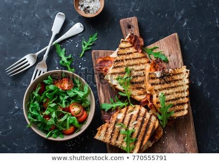 bacon snack stock photo © zhekos