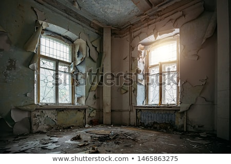 abandoned and rundown apartment stock photo © 5xinc