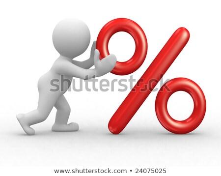 Imposto ilustração 3d humanismo negócio companhia Foto stock © dacasdo