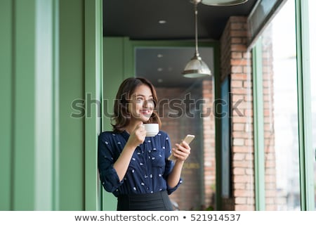 young businesswoman on the phone stock photo © nyul
