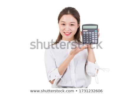 mutui · imprenditrice · felice · bene · statistiche · risultati - foto d'archivio © lunamarina