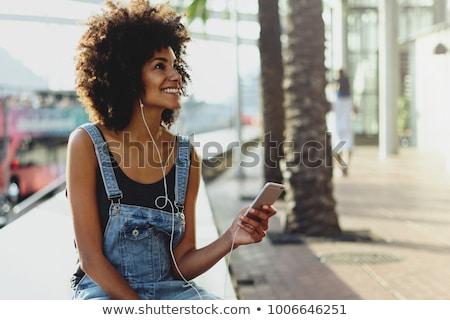 женщину · музыку · оружия · воздуха - Сток-фото © fantasticrabbit