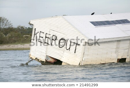 House Floating Away Stock photo © cteconsulting