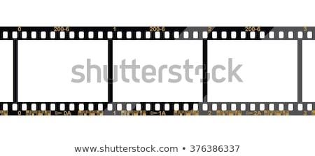 old 35 mm negative film strip stock photo © pxhidalgo