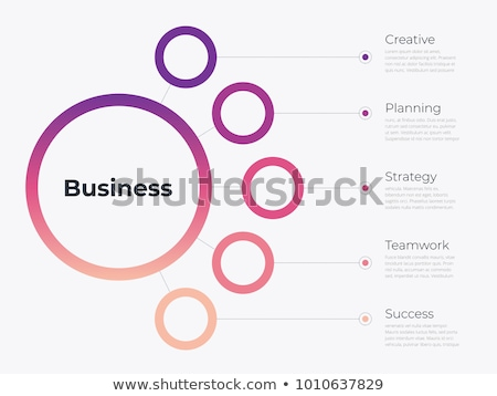 Transparent Vector set of Infographic elements Stock photo © orson