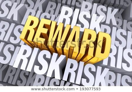 reward rises from risk stock photo © 3mc