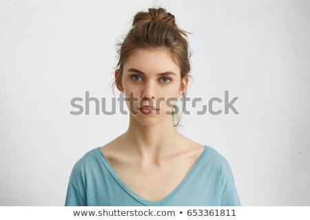 Studio Portrait Of Serious Teenage Girl Stock photo © monkey_business
