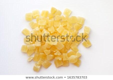 Pile Of Sugar Cubes On Top Stock photo © Cipariss