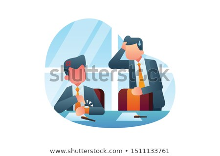 Working late concept Stock photo © Lizard