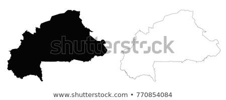 Burkina Faso map Stock photo © mayboro1964