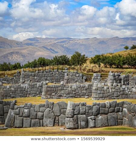 遺跡 ペルー 北 最後 牙城 ストックフォト © Hofmeester