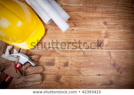 Copy Space Working Tool on wooden background Stock photo © Valeriy