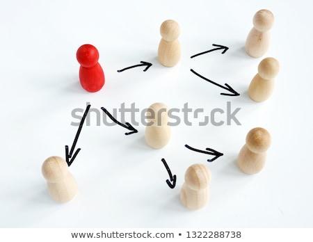 delegate arrows concept stock photo © ivelin