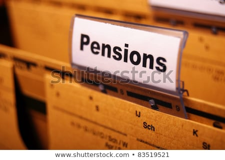 benefits concept with word on folder stock photo © tashatuvango