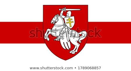 Coat of arms Belarus Stock photo © netkov1