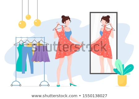 woman chooses what to wear stock photo © nobilior