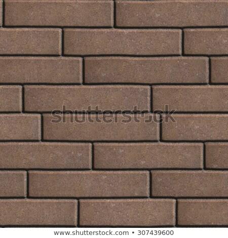 Marrón pavimento sin costura textura construcción urbanas Foto stock © tashatuvango
