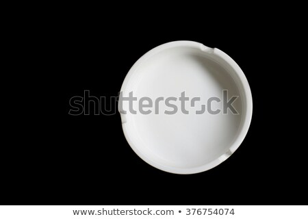 灰皿 · ガラス · 孤立した · 白 · 煙 · ストレス - ストックフォト © shutswis