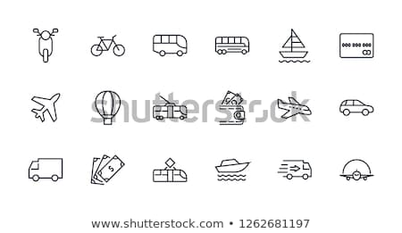 auto · auto · dienst · icon · vector - stockfoto © rastudio