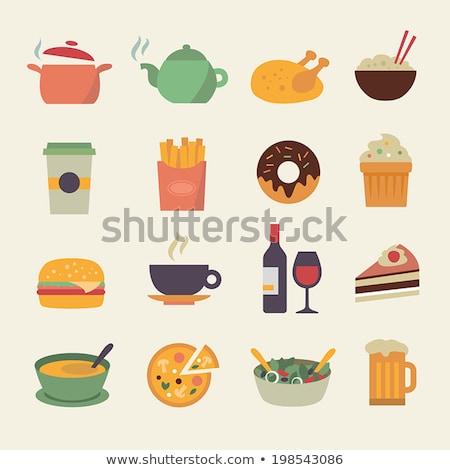 ベクトル · おいしい · ドーナツ · 甘い · カラフル - ストックフォト © robuart