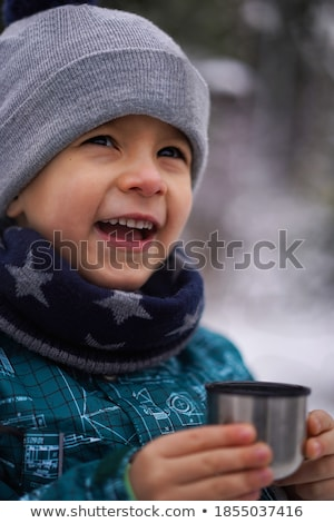 Cute Boy with Hat Stock photo © funix
