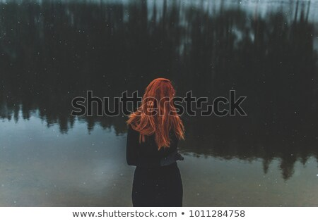 Romantic redhead woman   stock photo © Elisanth