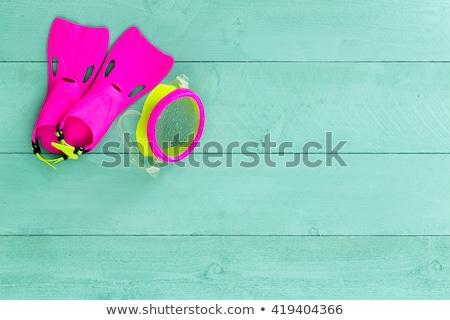 Vibráló színes gyerekek védőszemüveg sarok pasztell Stock fotó © ozgur