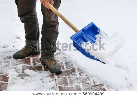 человека · снега · иллюстрация · льда · зима · мужчины - Сток-фото © rastudio