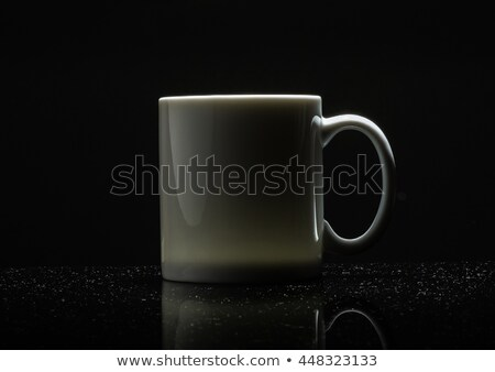 Low-key of whith mug Stock photo © somdul
