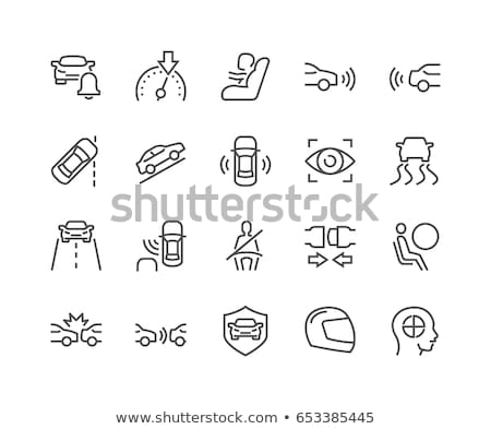 Passenger Car Icons Stock photo © Genestro