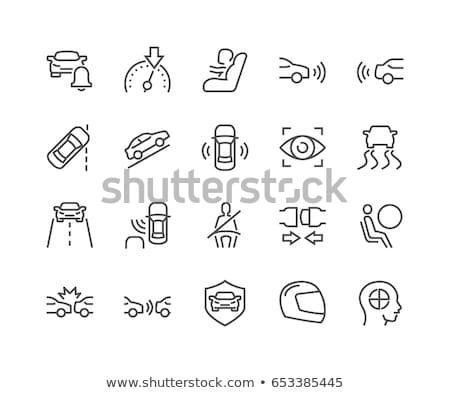 voiture · électrique · icônes · illustration · design · technologie - photo stock © genestro