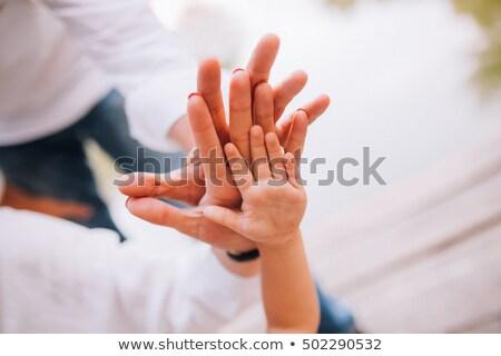 Hands close-up Stock photo © racoolstudio