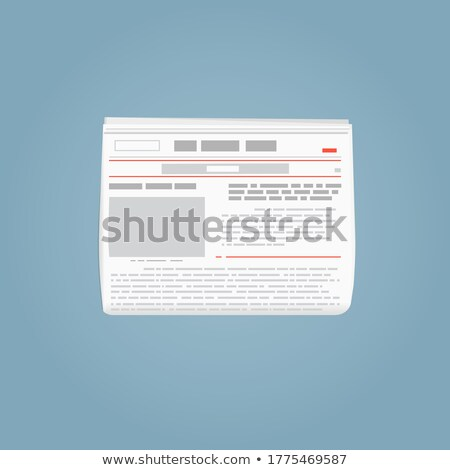 Stock Market Newspaper Sheet Background Business Abstract Stock photo © Frankljr