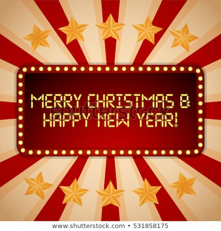 Foto d'archivio: Natale · casino · buon · anno · carta · sfondo · calendario