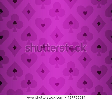 Simple purple poker background with transparent effect Stock photo © liliwhite