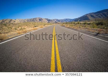 Straße · Arizona · USA · rock · Landschaften · Felsen - stock foto © capturelight