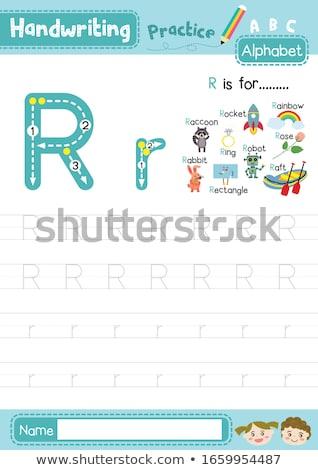 robot · jouet · enfants · illustration · couple · cute - photo stock © bluering
