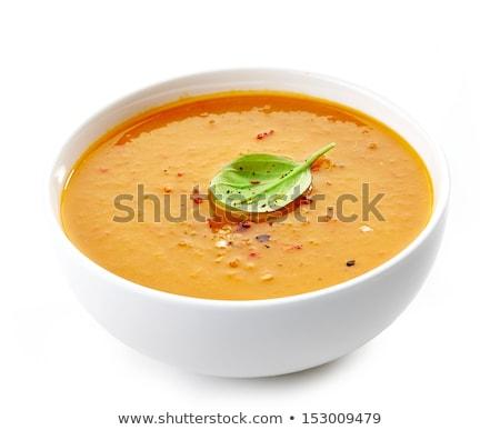 タマネギ スープ 白 鶏 プレート 中国語 ストックフォト © janssenkruseproducti