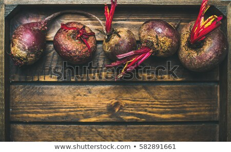 Organic Beetroot detail stock photo © naffarts