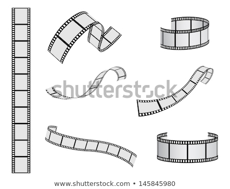 3d film strip vector background Stock photo © SArts