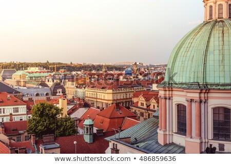мнение · средневековых · города · Италия · небе · пейзаж - Сток-фото © kirill_m