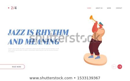 Homem jogar violoncelo jovem feliz músico Foto stock © RAStudio