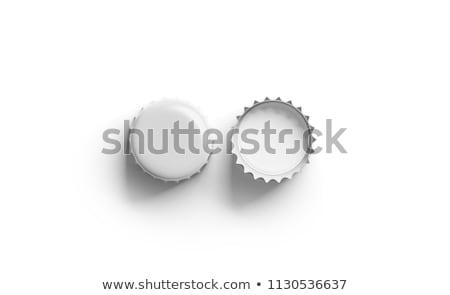 フロント 空っぽ ビール ガラス 孤立した 白 ストックフォト © Cipariss