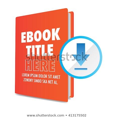 книга название 3D книгах Сток-фото © tashatuvango
