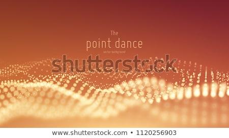 vector · splash · deeltjes · futuristische · achtergrond - stockfoto © pikepicture