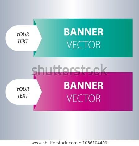 Stockfoto: Moderne · meetkundig · verkoop · banner · ontwerp · bieden