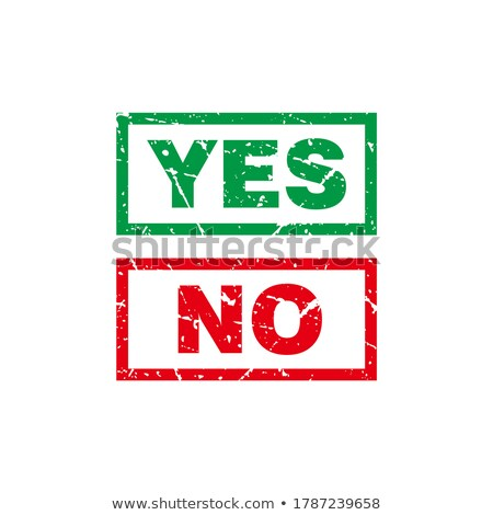 Yes - Doodle Red Text. Business Concept. Stock photo © tashatuvango
