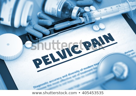 diagnóstico · médico · impresso · turva · texto · azul - foto stock © tashatuvango